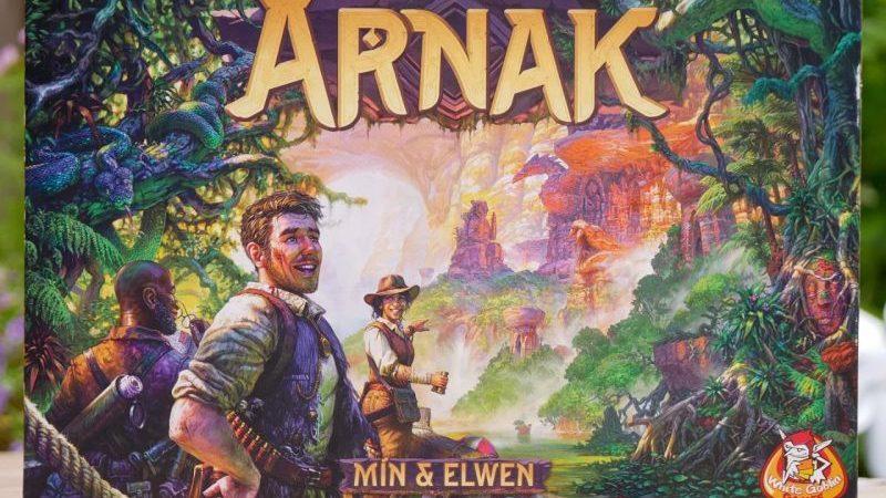 De Verdwenen Ruines van Arnak